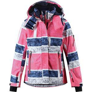 Утеплённая куртка  Frost Reima. Цвет: красный