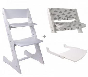 Стульчик для кормления  kids Steptop со столиком и набором подушек Forest
