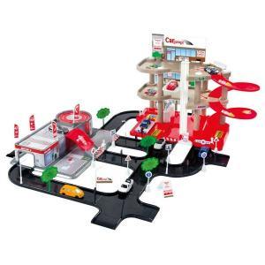Игровой набор  Парковка + сервисный центр MochToys