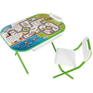 Набор детской мебели На дороге, зеленый Дэми. Цвет: зеленый