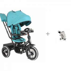 Велосипед трехколесный  Mini Trike Джинс с дождевиком BamBola Mars