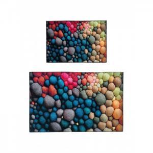 Набор ковриков для ванной и туалета ТК-0046 Радуга