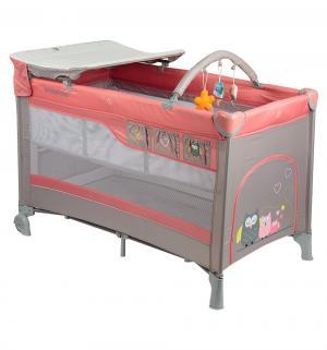 Манеж-кровать  Dream, цвет: pink Baby Design