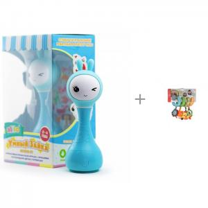 Интерактивная игрушка  Умный зайка R1 и развивающая Спиралька Infantino Alilo