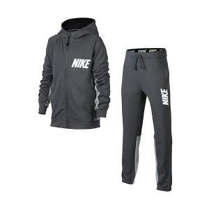 Спортивный костюм Nike. Цвет: серый