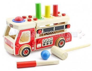 Деревянная игрушка  Конструктор Машина Мир деревянных игрушек