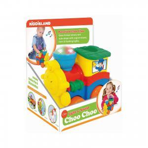 Развивающая игрушка Паровозик со слоненком, Kiddieland