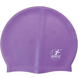 Силиконовая шапочка для плавания , фиолетовая Dobest