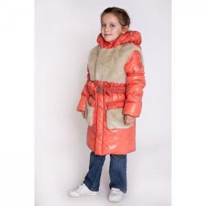 Куртка  Пушок, цвет: красный Ursindo