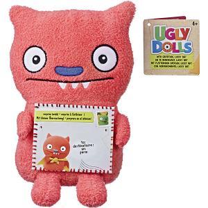 Мягкая игрушка Ugly Dolls С благодарностью Счастивчик Бэт, 11 см Hasbro. Цвет: розовый