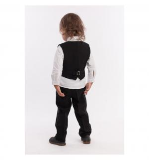 Комплект рубашка/брюки/жилет/бабочка , цвет: черный LP Collection