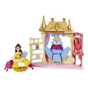 Игровой набор Disney Princess Royal Clips, Спальня Белль Hasbro