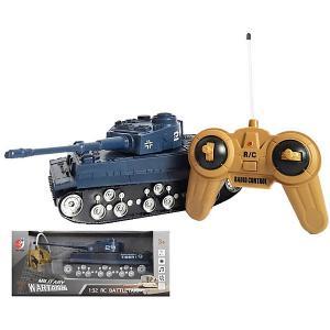 Радиоуправляемый танк  Тигр, свет/звук Zhorya. Цвет: разноцветный