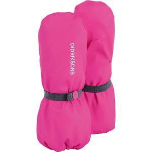 Варежки Didriksons Glove DIDRIKSONS1913. Цвет: розовый