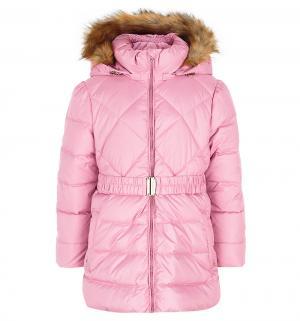 Пуховик , цвет: розовый Ёмаё