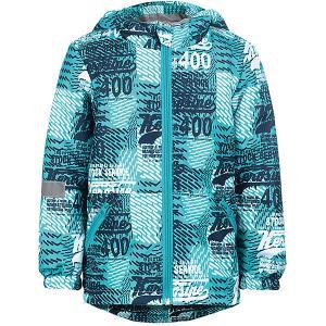 Куртка Дуглас JICCO BY OLDOS для мальчика. Цвет: синий