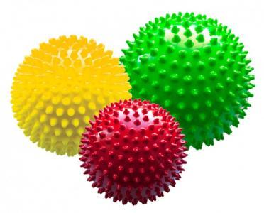 Набор мячей большой Светофор в сетке МалышОК