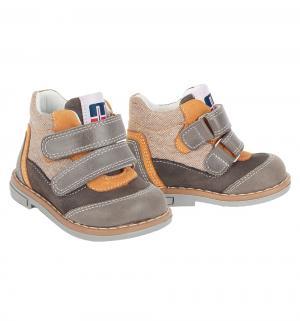 Ботинки , цвет: коричневый Minimen