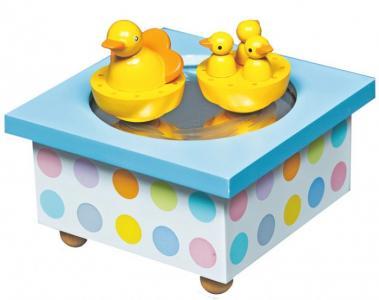 Музыкальная шкатулка Wooden Box Duck Trousselier
