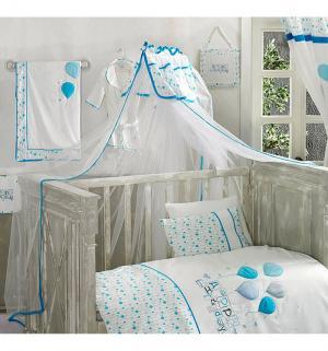 Балдахин Happy Birthday 150 х 450 см, цвет: голубой Kidboo