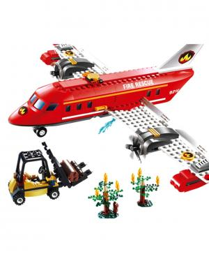 Пожарный самолет 522 деталей Gudi
