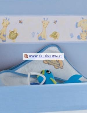 Банное полотенце с уголком Natura Micuna