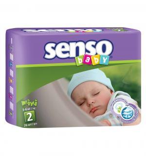 Подгузники  Midi (3-6 кг) 26 шт. Senso Baby