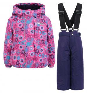 Комплект куртка/брюки  Волшебная галактика, цвет: розовый Ma-Zi-Ma by Premont