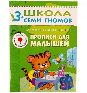 Книга развивающая Шсг «Прописи для малышей» 3+ Школа Семи Гномов