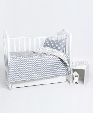 Постельное бельё в кроватку Звезда Мой Ангелочек