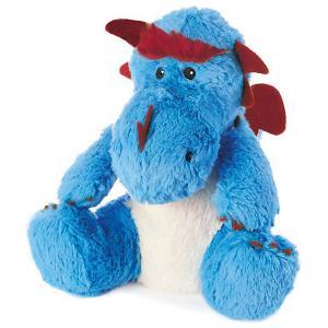 Игрушка-грелка Дракон Cozy Plush, Warmies Intelex. Цвет: голубой