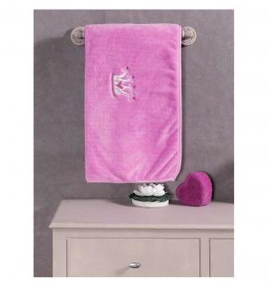 Плед  Little princess 80 х 120 см, цвет: розовый Kidboo