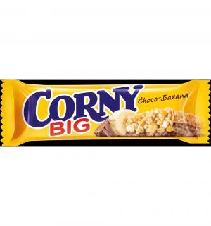 Батончик  Corny Big банан в молочном шоколаде, 50 г, 1 шт Schwartau