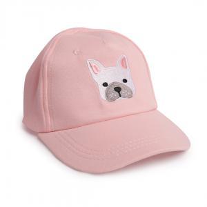 Бейсболка  Городская линейка, цвет: розовый Happy Baby