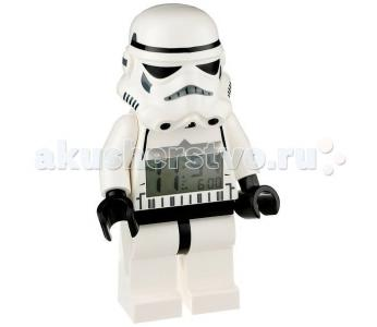 Часы Lego Будильник Star Wars минифигура Storm Trooper Clic Time