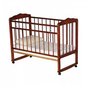 Детская кроватка  Женечка-3 колесо-качалка Russia