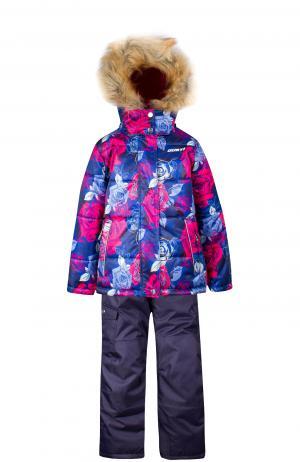 Комплект куртка/полукомбинезон , цвет: синий Gusti Boutique