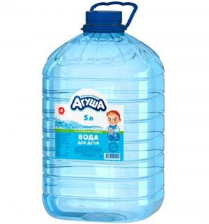 Вода  Детская питьевая природная негазированная, 5 л Агуша