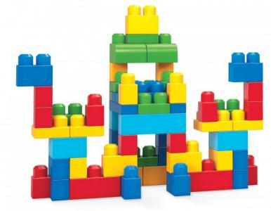 Конструктор  Mattel First Builders Набор классический (60 деталей) Mega Bloks