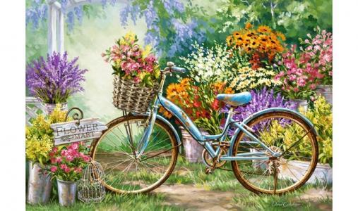 Пазлы Цветочный март Castorland