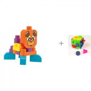 Конструктор  для малышей и сортер Логический Куб Chicco