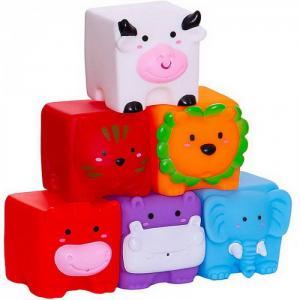 Игрушка для ванной Кубики Мои любимые животные Junfa