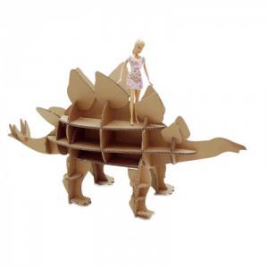 Набор игровой из картона Домашний динозавр: Стегозавр Картонный папа