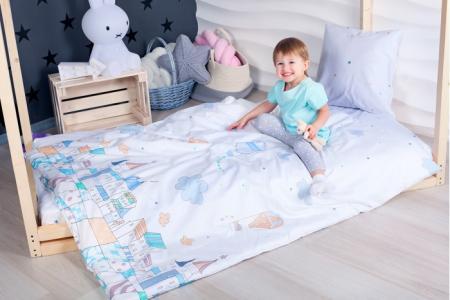 Комплект в кроватку  Изумрудный город (4 предмета) 160х80 см Makkaroni Kids