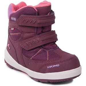 Ботинки Toasty II GTX Viking для девочки. Цвет: бордовый
