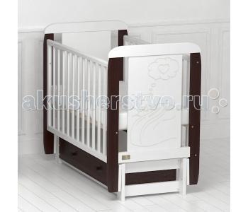 Детская кроватка Kitelli Amore продольный маятник (Kito)