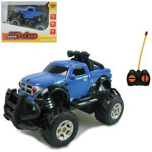 Радиоуправляемая машина  Toys Safari 1:43, синяя Yako. Цвет: синий