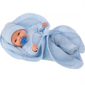 Кукла  Гектор в голубом 37 см Juan Antonio