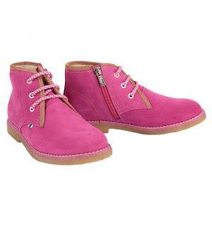 Ботинки , цвет: фуксия Elegami