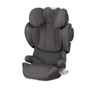 Автокресло  Solution Z-fix Plus, цвет: manhattan grey Cybex